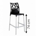EGO ROCK BAR STOOL 74cm